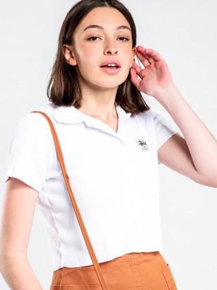 Stussy Markham Rib T-Shirt in White