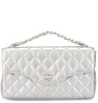 Chanel Pre-Owned diamond quilted CC tote