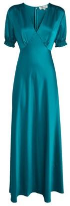 Diane von Furstenberg Avianna Smock Maxi Dress