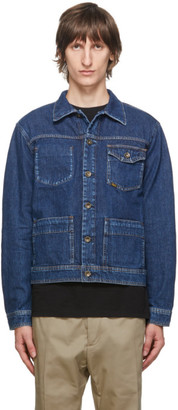 Tiger of Sweden Blue Denim Myth Jacket
