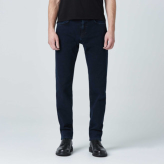 DSTLD Straight Jeans in Midnight Blue Overdye