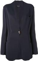 Giorgio Armani Pre Owned scalloped blazer