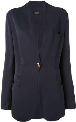 Giorgio Armani Pre-Owned scalloped blazer