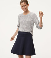 LOFT Tall Pull On Flippy Skirt
