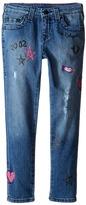 True Religion Casey Doodle Jeans in Super Shredded (Toddler/Little Kids)
