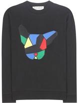 Être Cécile Dog Badge cotton sweatshirt