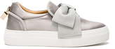 Buscemi 40MM Bow Satin Sneakers