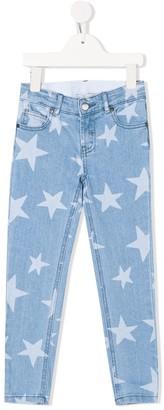 Stella McCartney star print jeans