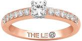 Leo Diamond 18ct rose gold 0.50ct I-I1 diamond ring