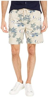 Nautica All Over Shorts (White) Men's Shorts