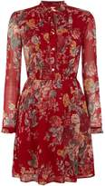Denim & Supply Ralph Lauren Bianca bib high neck vintage floral dress