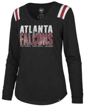 '47 Women's Atlanta Falcons Flash Long Sleeve T-Shirt