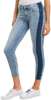 7 For All Mankind Gwenevere Bright Blue Ankle Cut