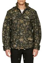 Burberry Sage Floral Field Jacket