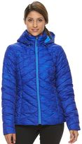 Tek Gear Women's Hooded Packable Puffer Jacket