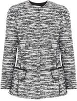 Oscar de la Renta Bouclé-tweed Jacket - Gray