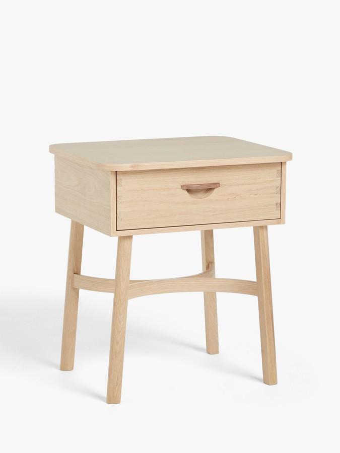 John Lewis & Partners Rattan Bedside Table