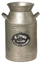 "Garden Accents Artificial Antique Milk Can Silver 15"" - National Tree Company®"