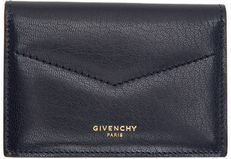 Givenchy Navy Edge Business Card Holder