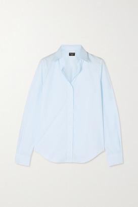 Emma Willis Cotton-poplin Shirt - Blue
