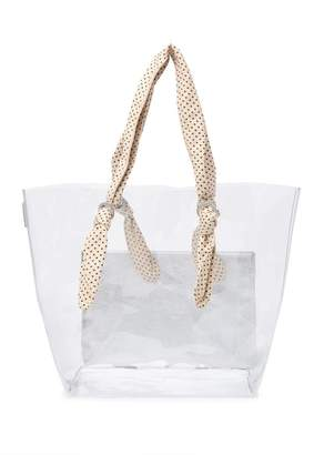 Loeffler Randall Lydia Large Clear Tote