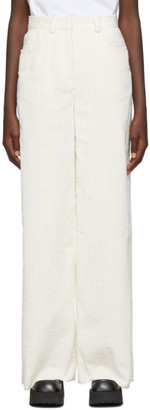 M Missoni White Corduroy Trousers