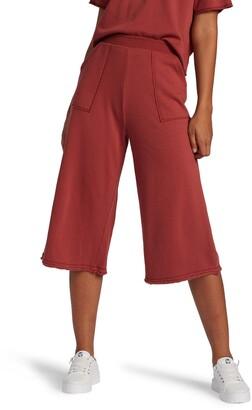 Roxy Catching Waves Wide Leg Knit Crop Pants