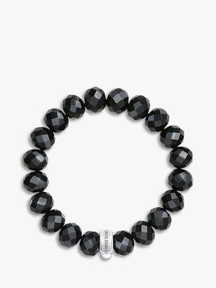 Thomas Sabo Charm Club Obsidian Bracelet, Black