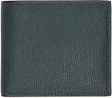 Valextra Green 6CC Bifold Wallet