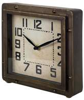 Trent Austin Design Metal Tabletop Clock