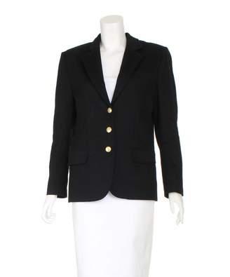 Olivia von Halle Black Wool Jackets