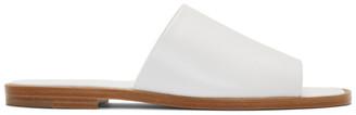 A Plan Application A-Plan-Application White Flat Sandals