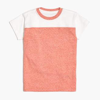 J.Crew Boys' football tee in supersoft jersey
