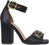 Marni Satin and crystal sandal