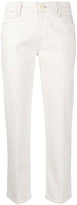 Frame Le High Double straight-leg jeans