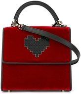 Les Petits Joueurs heart crossbody bag