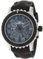 Fortis Men's 675.10.81 L.01 B-42 Big Automatic Rotating Bezel Leather Watch