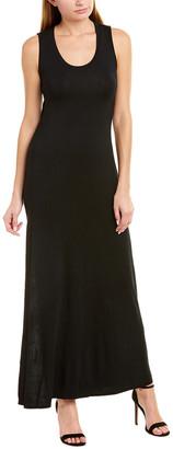 Krisa Drape Back Maxi Dress