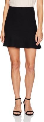 Minnie Rose Women's Ruffled Skirt