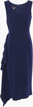 Boutique Moschino Draped Crepe Dress