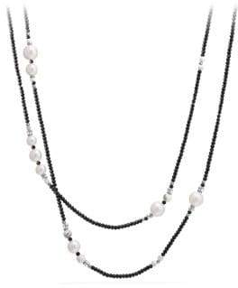 David Yurman Oceanica Tweejoux Necklace with Pearls and Tahitian Grey Pearls