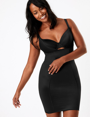 Marks and Spencer Firm Control Sheer Wear Your Own Bra Shaping Full Slip