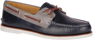 Sperry Authentic Original Cross Lace Leather Boat Shoe