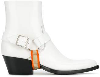 Calvin Klein pointed toe ankle boots