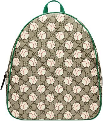 Gucci Children's GG baseball backpack