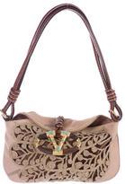 Valentino Crochet Catch Evening Bag