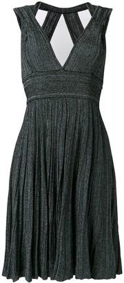 Antonino Valenti V-Neck Knitted Midi Dress