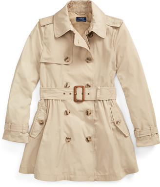 Ralph Lauren Water-Repellent Trench Coat