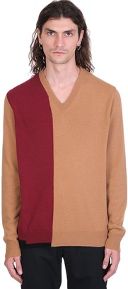Maison Margiela Knitwear In Beige Wool