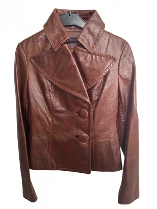 Martin Grant Camel Leather Jacket for Women